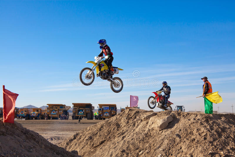 Download Competitions On Motorcycle Sport Editorial Photo - Image of ride, dirt: 16733941