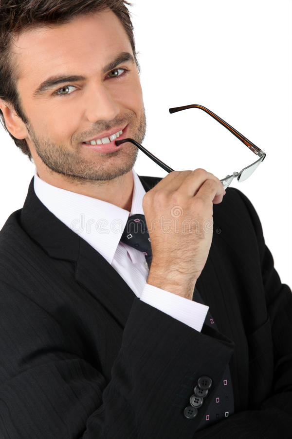 Download Competitive businessman stock photo. Image of confident - 24159194