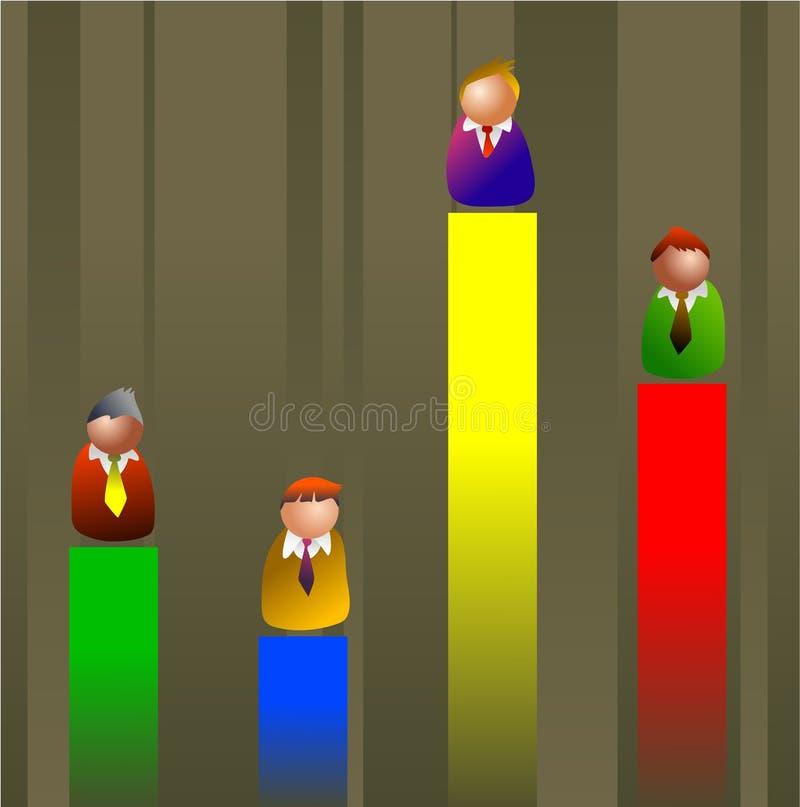 Competitivo libre illustration