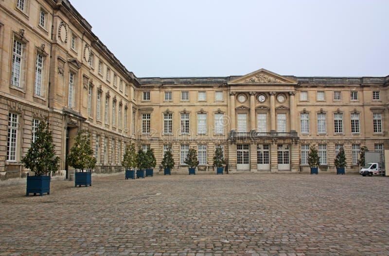 Compiegnewoonplaats - het paleis van Franse koningen royalty-vrije stock fotografie