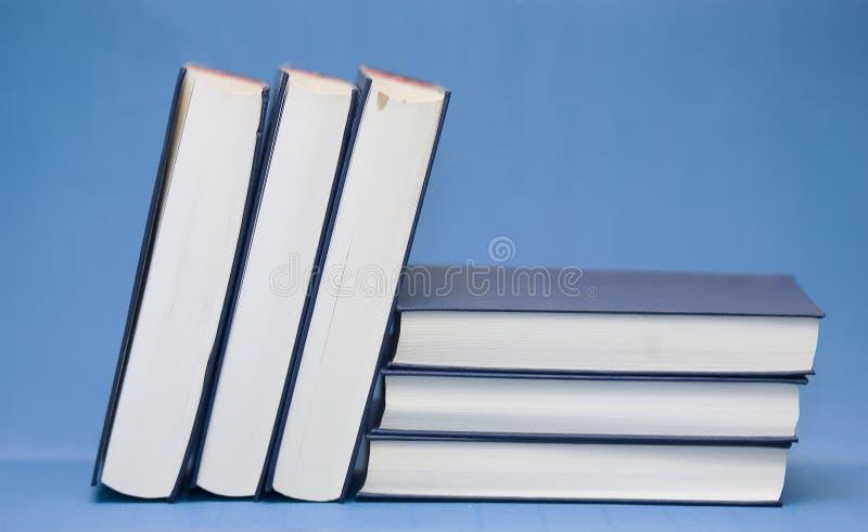 Compilação dos livros fotos de stock royalty free