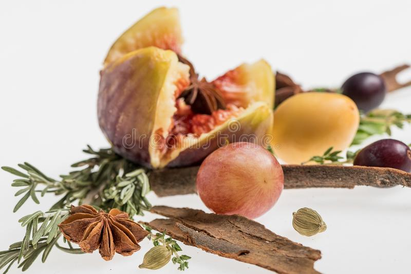 Compilación de la fruta del otoño fotos de archivo libres de regalías