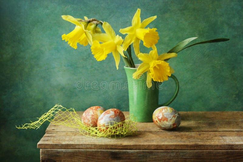 Compisition de Pascua imagenes de archivo