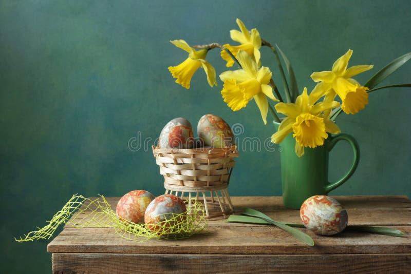 Compisition van Pasen stock afbeelding