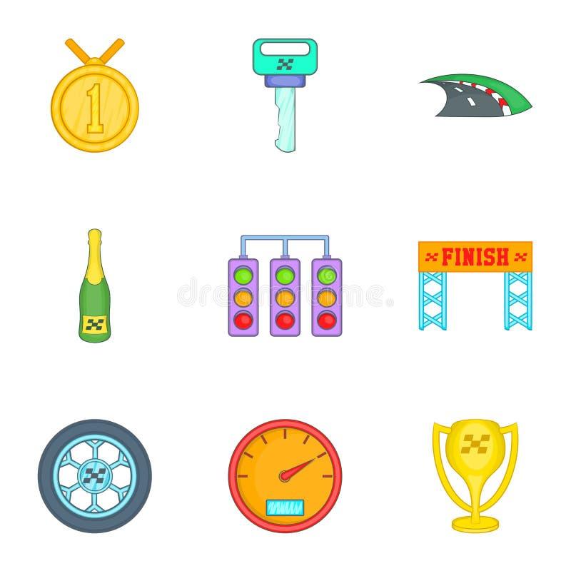 Download Compita E Concedendo Os ícones Ajustados, Estilo Dos Desenhos Animados Ilustração do Vetor - Ilustração de isolado, movimento: 80102047