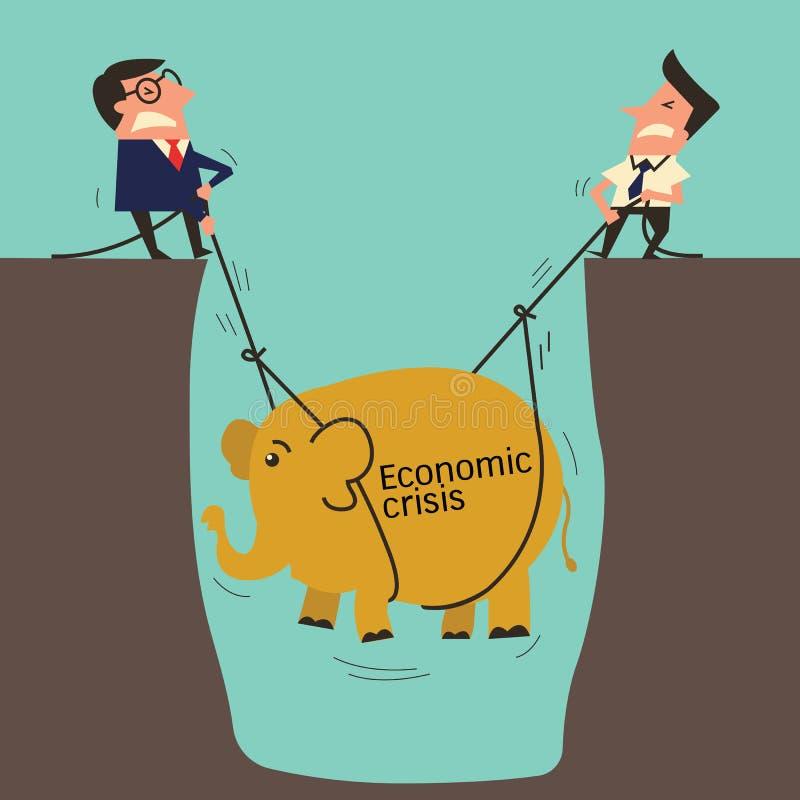 Compito dell'elefante illustrazione di stock