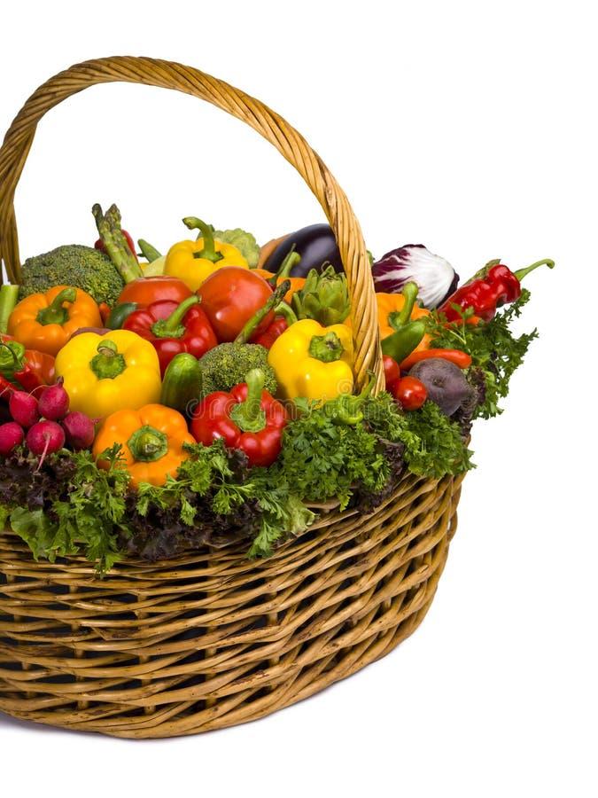 Complètement des légumes photographie stock libre de droits