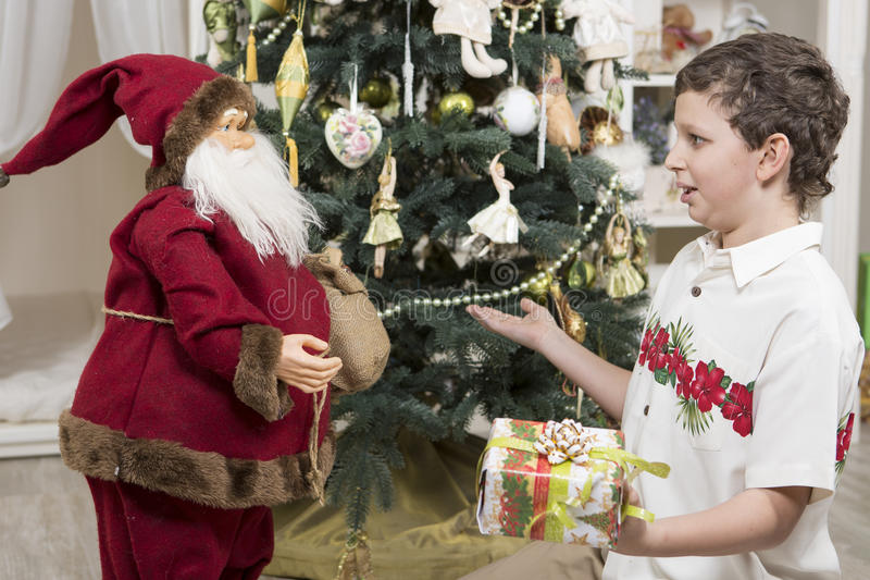 Download Complaining To Santa Clause Royalty Free Stock Images - Image: 35237859