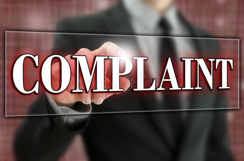 Complaint royalty free stock photos