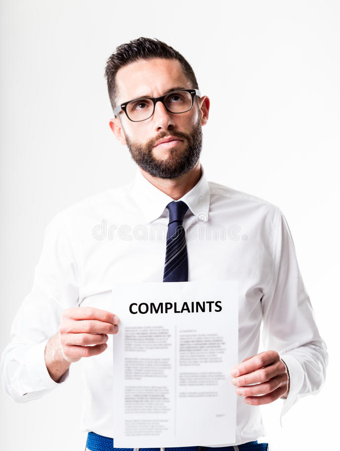Free Complaints Received By Customer Service Royalty Free Stock Images - 72085479