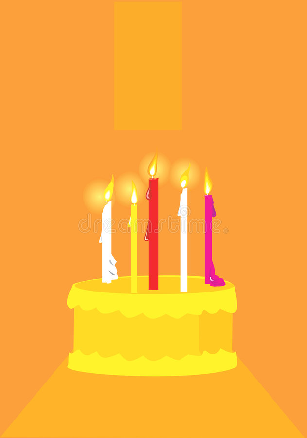 Compleanno illustrazione vettoriale