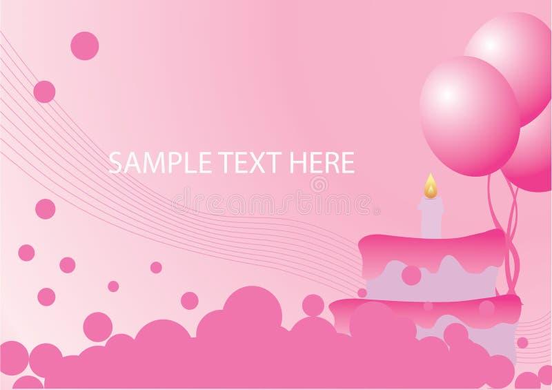 Download Compleanno illustrazione vettoriale. Illustrazione di grafico - 7322798