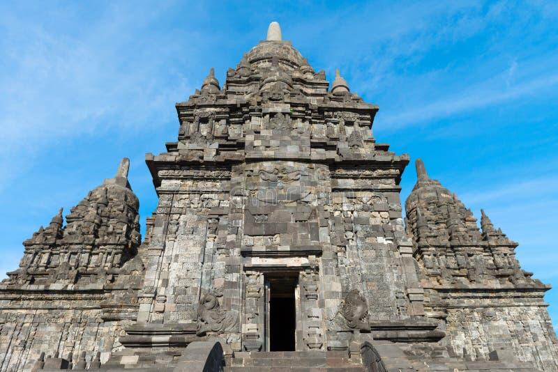 Complejo budista de Candi Sewu en Java, Indonesia fotos de archivo libres de regalías