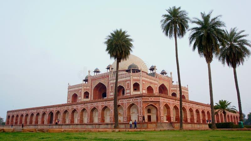 Complejo de la tumba del ` s de Humayun, Nueva Deli, la India fotografía de archivo libre de regalías