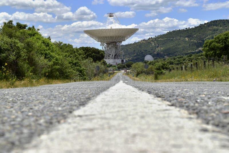 Complejo de las comunicaciones de espacio profundo (2) imágenes de archivo libres de regalías