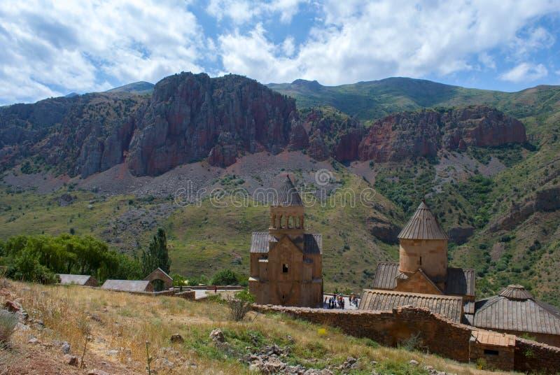 Complejo de Noravank en la provincia de Vayots' Dzor, Armenia fotografía de archivo