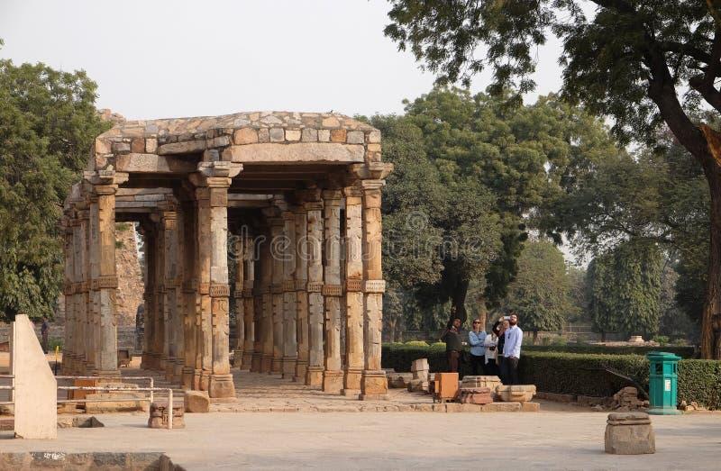 Complejo de Qutab Minar, Delhi foto de archivo