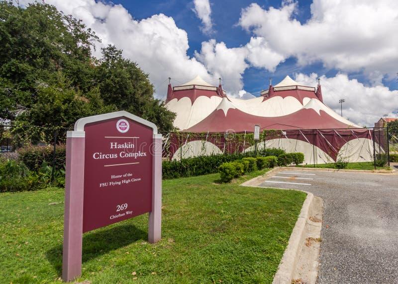 Complejo del circo de Haskin en la universidad de estado de la Florida fotos de archivo libres de regalías
