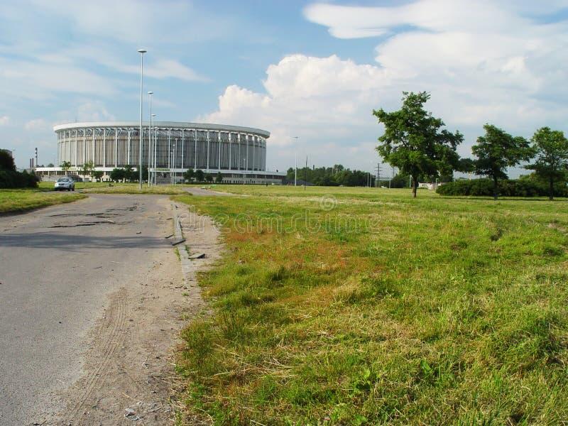 Complejo deportivo y de conciertos de San Petersburgo fotos de archivo