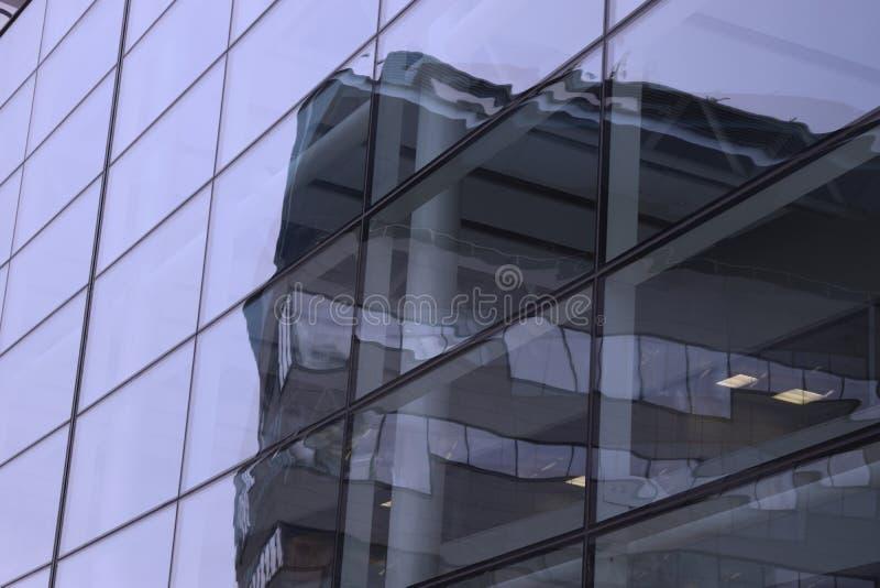 Complessi di uffici di Manchester fotografia stock libera da diritti