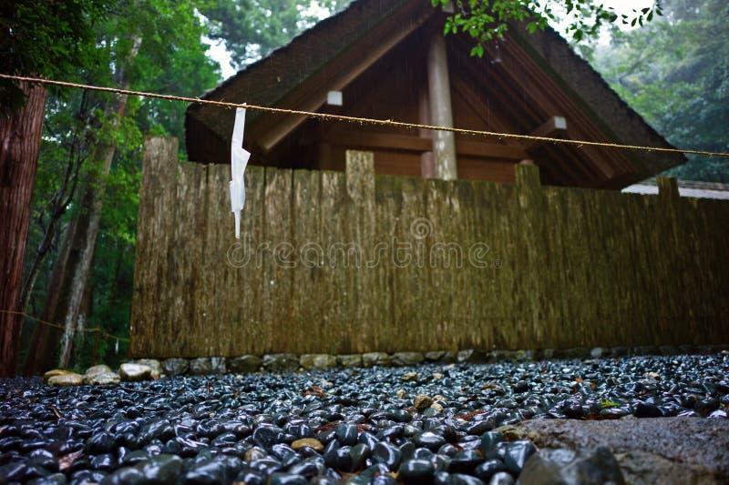 Complesso del santuario di Ise Jingu, Giappone immagine stock