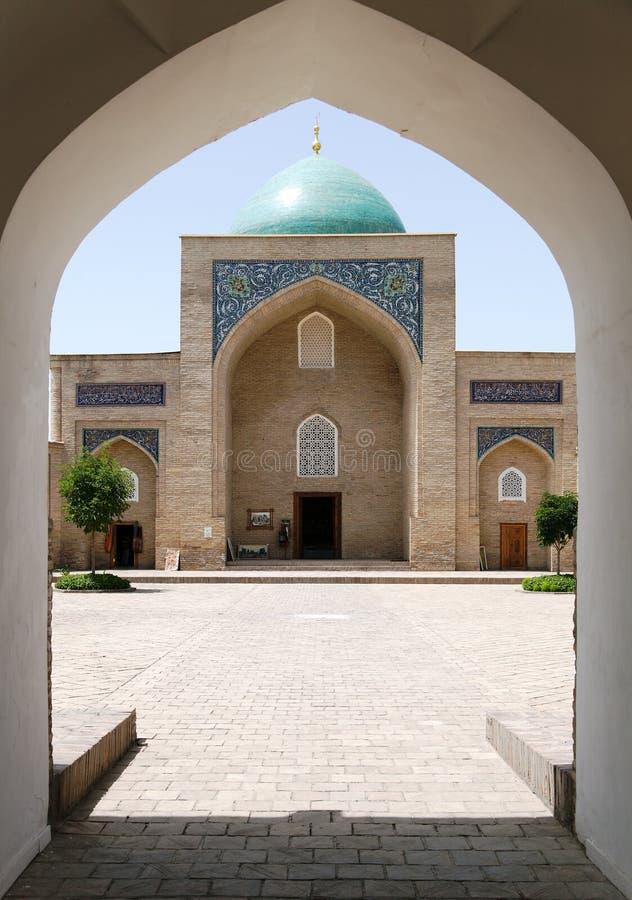 Complesso dell'imam di Hazrati - centro religioso di Taškent fotografia stock