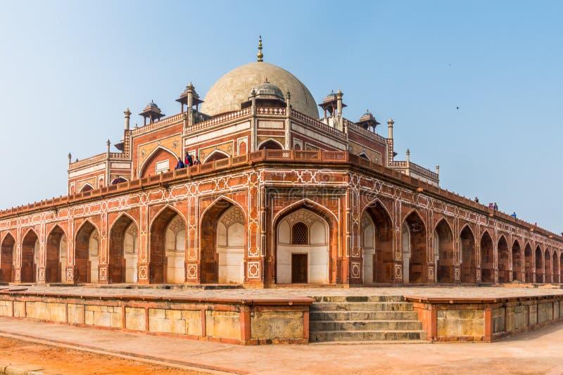 Complesso della tomba di Humayun, la tomba dell'imperatore Humayun di Mughal dentro fotografie stock