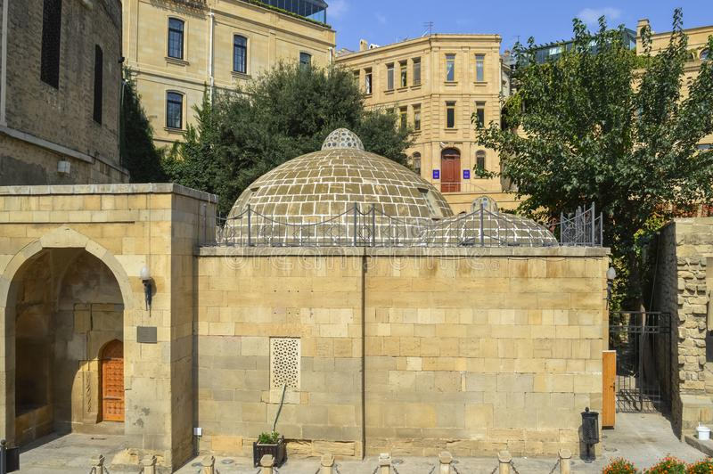 Complesso di Haji Bani Bath a Bacu fotografia stock