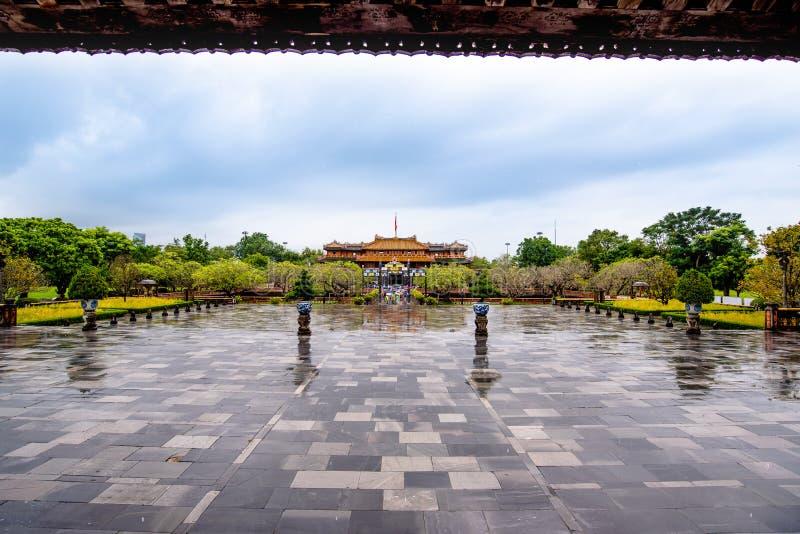 Complesso di Hue Monuments nella tonalit?, Vietnam immagini stock