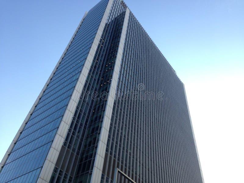 Complesso di uffici di Canary Wharf fotografia stock libera da diritti