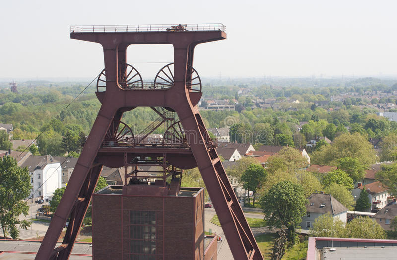 Complesso industriale della miniera di carbone di Zollverein, Essen, GE immagini stock