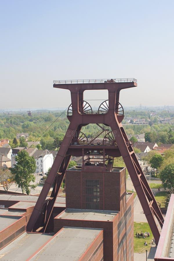 Complesso industriale della miniera di carbone di Zollverein, Essen, GE fotografia stock libera da diritti