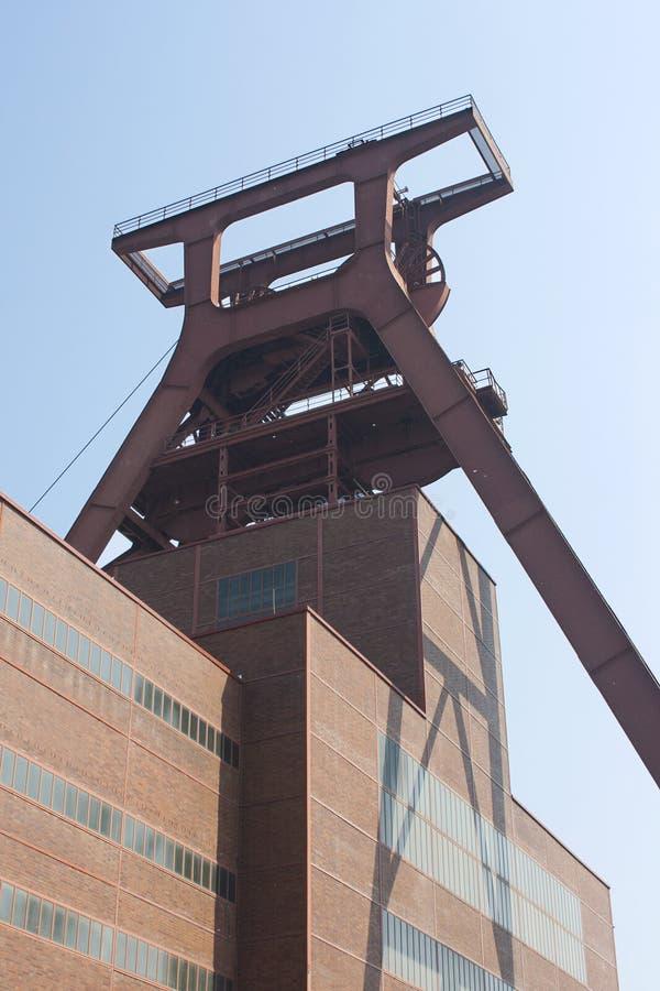 Complesso industriale della miniera di carbone di Zollverein, Essen, GE immagine stock