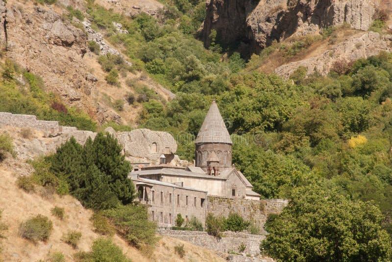 Complesso monastico di Geghard immagini stock libere da diritti