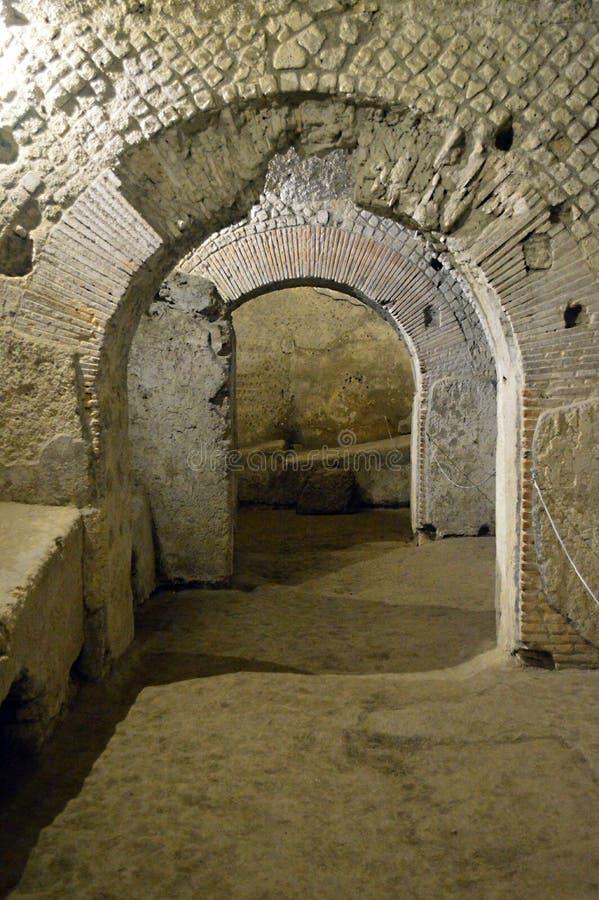 Complesso Monumentale di San Lorenzo Maggiore stockbilder