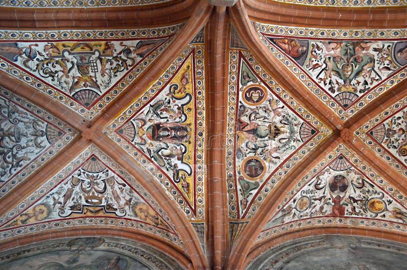 Complesso Monumentale di San Lorenzo Maggiore imagem de stock royalty free