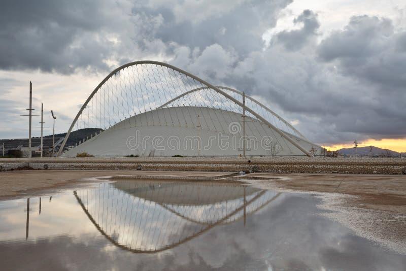 Complesso olimpico di sport, Atene immagini stock libere da diritti