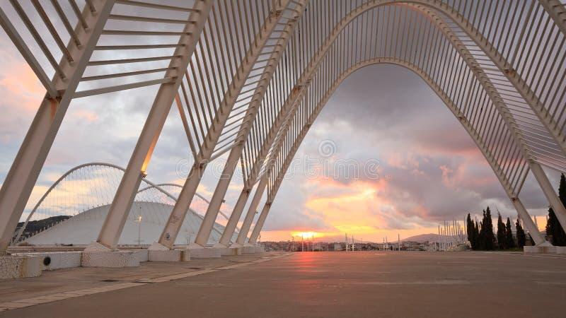 Complesso olimpico di sport, Atene immagine stock libera da diritti