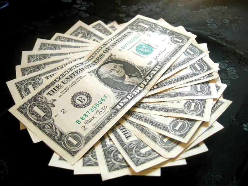 Completamente Do Dólar Americano Do Dinheiro Imagens De Stock Grátis
