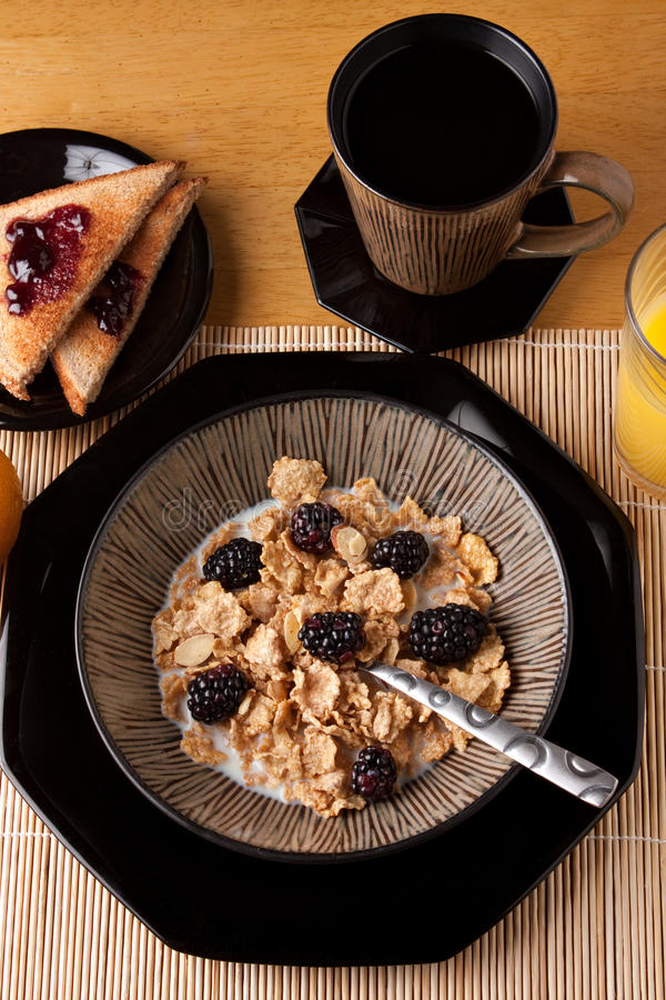 Download Complete Balanced Breakfast Royalty Free Stock Image - Image: 18230116