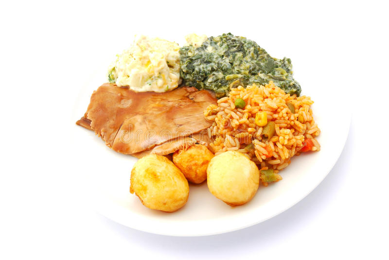 Download Complete Healthy Meal Royalty Free Stock Images - Image: 9373399
