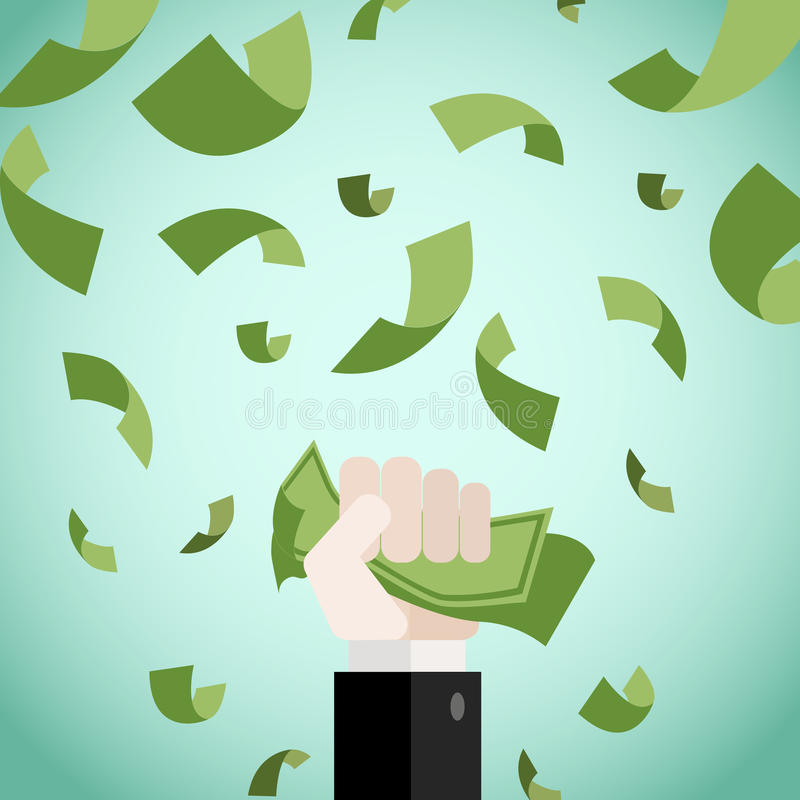 Complete Money Making royalty free stock photo