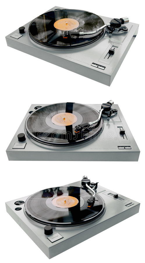Complete Record Player Stock Images