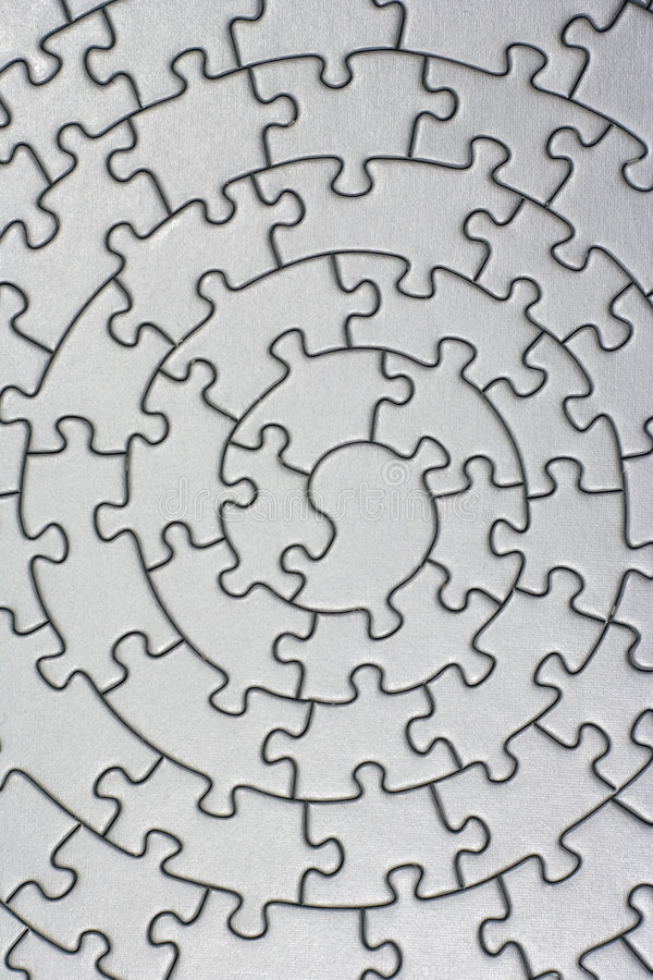 Download Complete silver jigsaw stock illustration. Image of frame - 535424