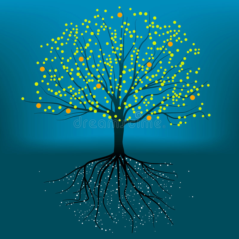 Free Complete Tree (vector) Stock Photo - 3800060