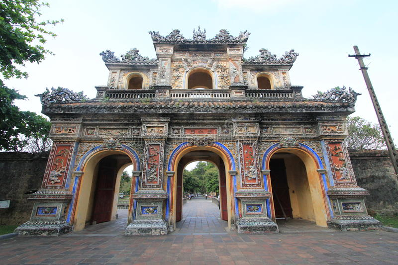 The Complex of Hue Monuments in Vietnam royalty free stock photo