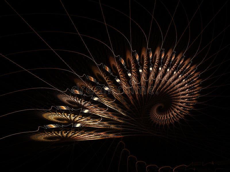Download Complex lines decoration stock illustration. Illustration of effect - 2594959