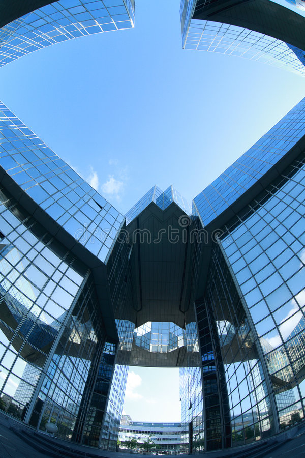 Free Complex Of Office Buildings Royalty Free Stock Images - 5510209