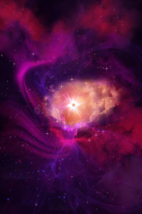 Nebula Molecular Formation stock images