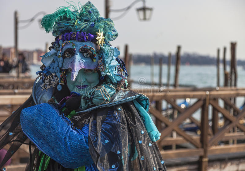 Complex Venetian Disguise Editorial Image